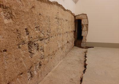 Wanddurchbruch bei einer Kellerabdichtung